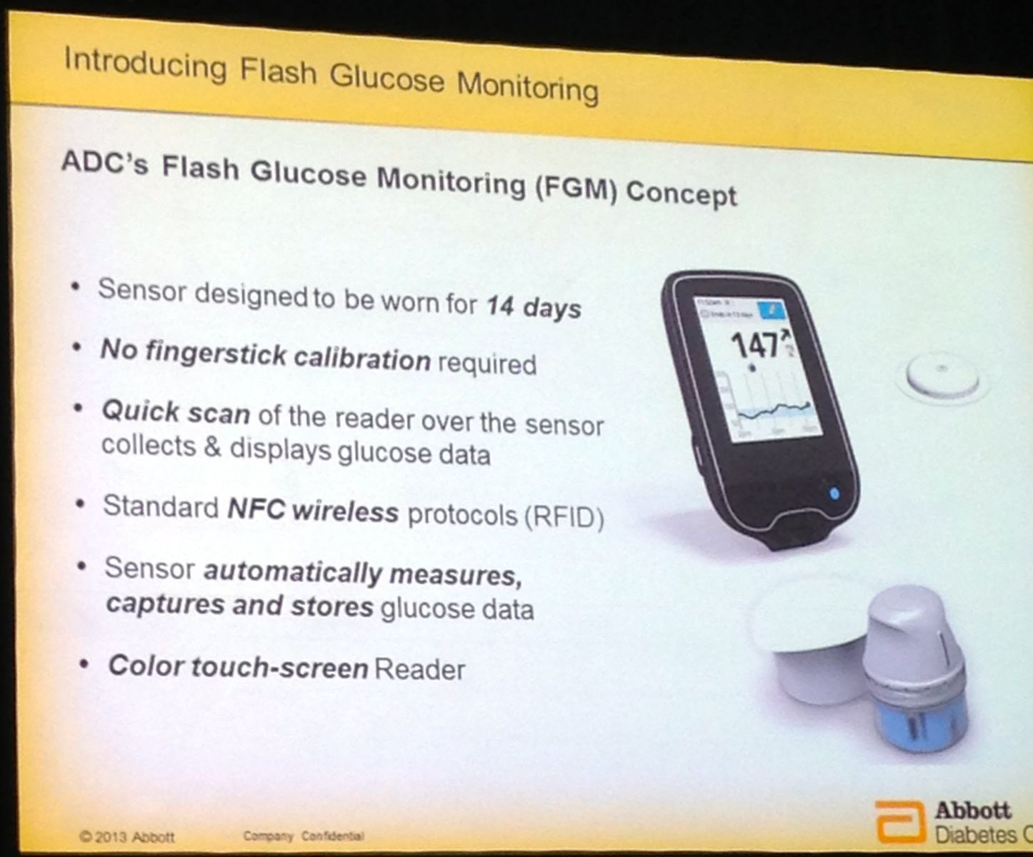 Abbott Debuts Flash Glucose Monitoring A New Alternative