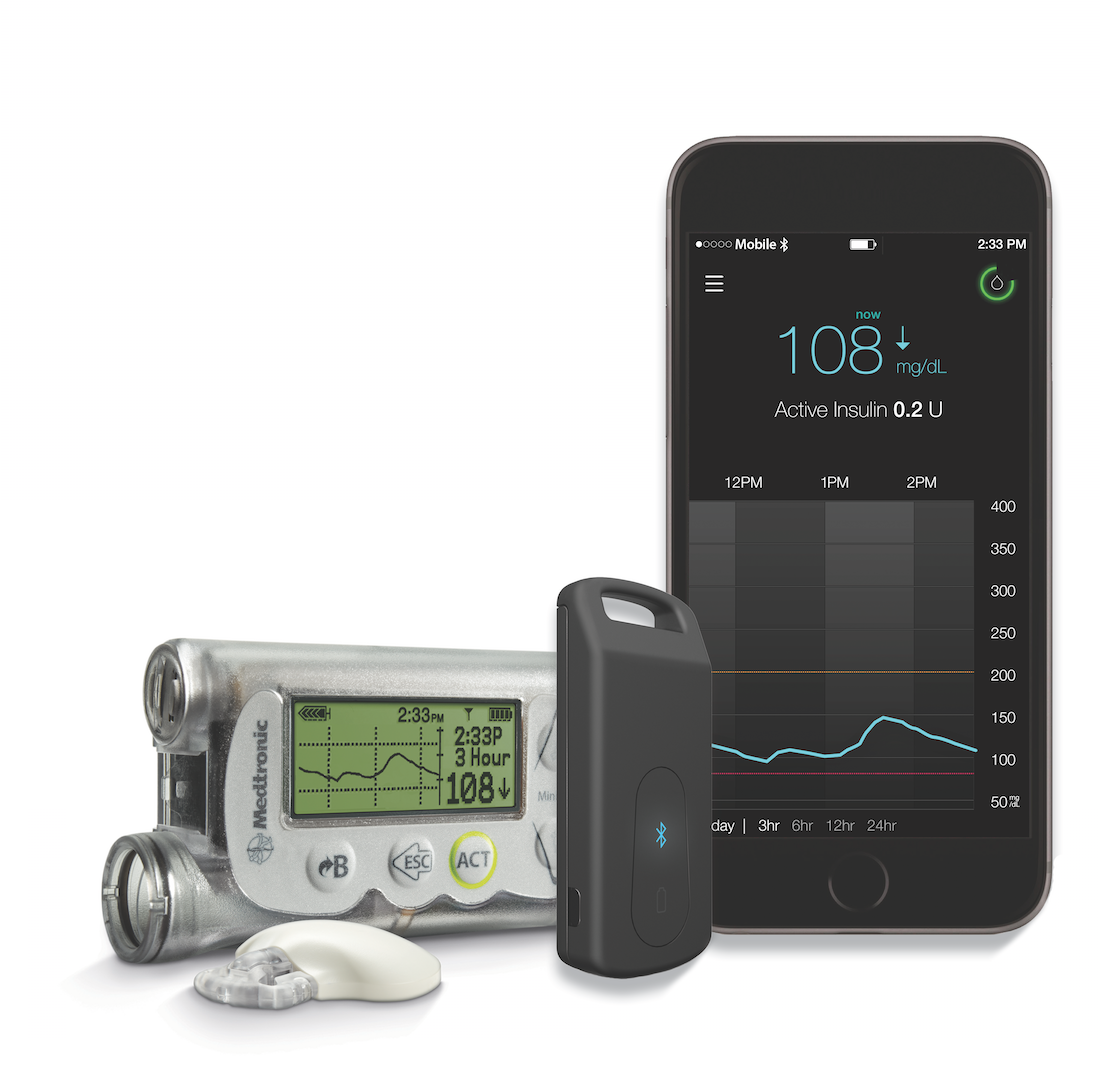 Medtronic S Minimed Connect Sending Pump Cgm Data To