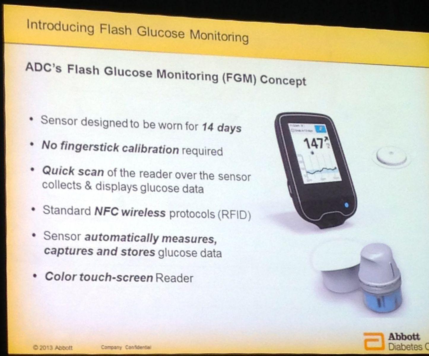 Abbott S Novel Glucose Sensing Technology The Freestyle