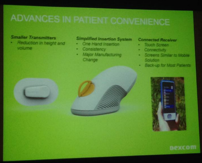 New Dexcom Share Receiver Approved And A Sneak Peek At