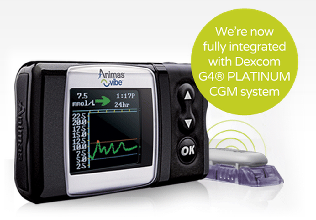 animas vibe brings dexcom cgm onto the pump screen diatribe
