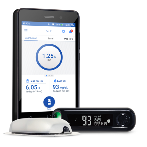 FDA Clears Insulet's Omnipod Dash Touchscreen Handheld with