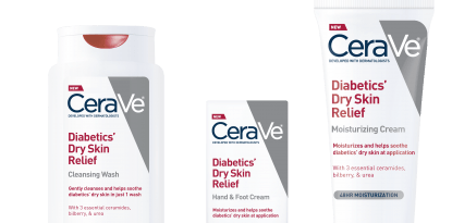 diabetes cerave skin care