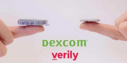 Dexcom Verily disposable CGM