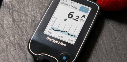 FreeStyle Libre trend arrow insulin dosing