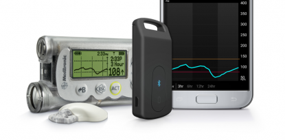 MiniMed Connect, Android, CGM, smartphone, data