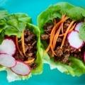 Asian-style lettuce wrap recipe