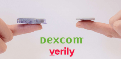 Dexcom Verily disposable CGM