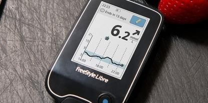 FreeStyle Libre trend arrow insulin dosing