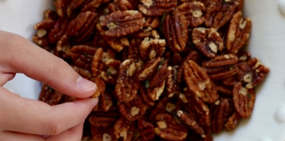 roasted pecan snack